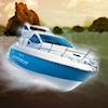 Barca a motore 3D gioco
