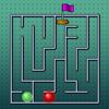 Una gara di labirinto gioco
