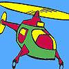Colorazione di elicottero aria gioco