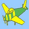 Colorazione di base dell'aeroplano gioco