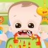 Problemi ai denti del bambino gioco