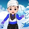 Bambino Srna Inverno Dressup gioco