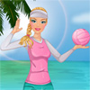 Barbie Beach volley gioco