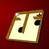 Pallina in un labirinto gioco