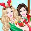 Barbie principessa di Natale gioco