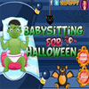Baby sitter per Halloween gioco