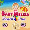 Bebè divertimento spiaggia Melisa gioco
