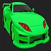 Miglior colorazione verde auto di concetto gioco