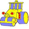 Grande ruota auto colorazione gioco