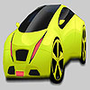 Grande verde pistacchio auto colorazione gioco