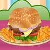 Grande hamburger cucina gioco