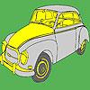 Grande storico classico auto colorazione gioco