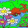 Colorazione di grande foresta gioco