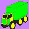 Colorazione di grande carico auto gioco