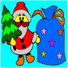 Natale da colorare gioco