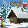 Natale neve Abode Escape gioco