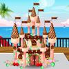 Torta castello di cioccolato gioco