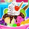 Cioccolato gelato alla vaniglia gioco