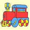 Classico vagon veloce colorazione gioco