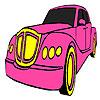Classico rosa auto colorazione gioco