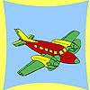 Colorazione dell'aeroplano costiero gioco