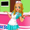 Carino infermiera vestire gioco