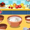 Delizioso cioccolato Banana muffin gioco
