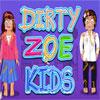 Bambini sporchi Zoe gioco