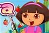 Dora taglia frutta gioco