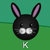 Coniglietti di Pasqua digitando gioco