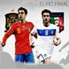 EURO finale Spagna Vs Italia gioco
