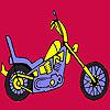 Colorare una moto veloce più difficile gioco