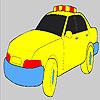 Colorazione di auto di polizia veloce gioco