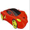 Auto veloce intensa colorazione gioco