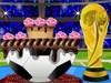 Decorazione di torta di FIFA gioco