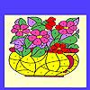 Fiori nella colorazione vaso gioco