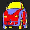 Buffo caldo auto colorazione gioco