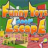 Giocattoli divertenti in camera di fuga gioco