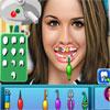 Gemma Atkinson al dentista gioco