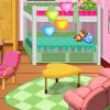 Ragazze dormitorio camera decorazione gioco