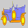 Oro vecchio auto colorazione gioco