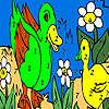 Green anatre nella colorazione Lago gioco