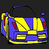 Colorazione di auto ad alte prestazioni gioco