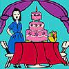 Jenny alla festa di compleanno da colorare gioco
