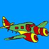 Colorazione di aeroplano del jet gioco