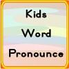 Pronuncia di parola bambini gioco