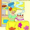 Kids coloring Amazing cake gioco