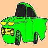 Poco colorazione vecchia auto gioco