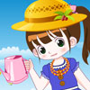 Piccolo giardiniere Girl Dress up gioco