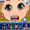 Bambina al dentista gioco